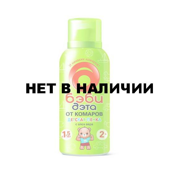 БЭБИ-ДЭТА Пенка от комаров 100мл./18
