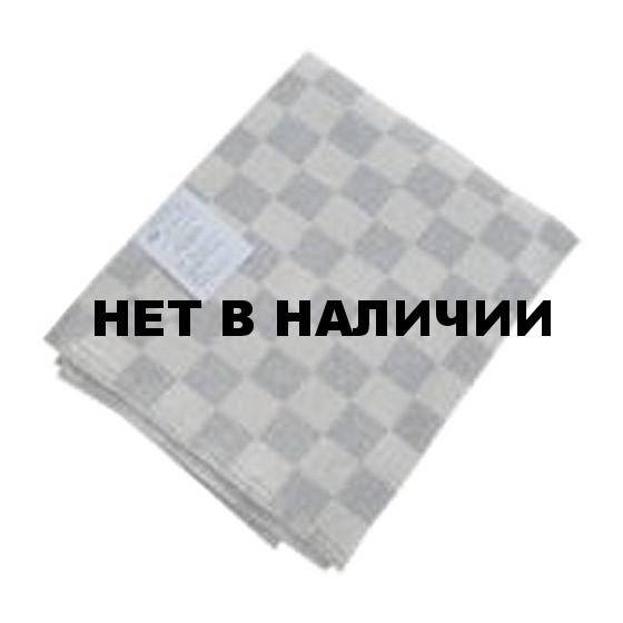 Одеяло 1,5-спальное (140 х 205), байковое серая клетка