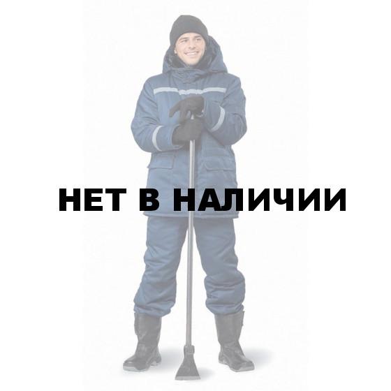 "Костюм мужской ""Вектор"" зимний т-синий"