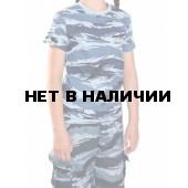 """Футболка, камуфляж детская """"Серый вихрь"""" (мод.ФК-07)"""