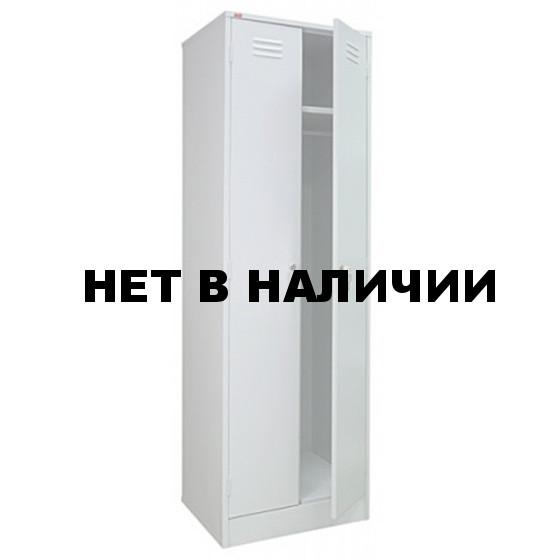 Шкаф двустворчатый сварной 600х500х1850
