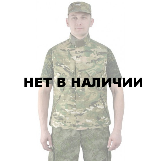 """Жилет мужской """"Gerkon Uranium"""" летний, камуфляж т.Смесовая """"Мультикам"""""""