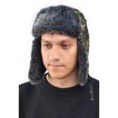Шапка-ушанка Ангара искусственный мех