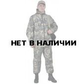 """Костюм мужской """"Турист 2"""" летний, камуфляж, ткань Грета """"Серая сетка"""""""