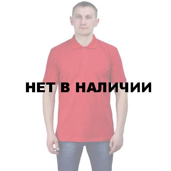 Рубашка-поло красная