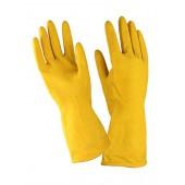 Перчатки хозяйственные латекс ворсовые (12пар/упак)