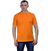 Рубашка-поло оранжевая