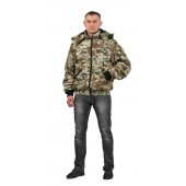 Куртка мужская Бомбер демисезонная, ткань Мак-мембрана Мультикам