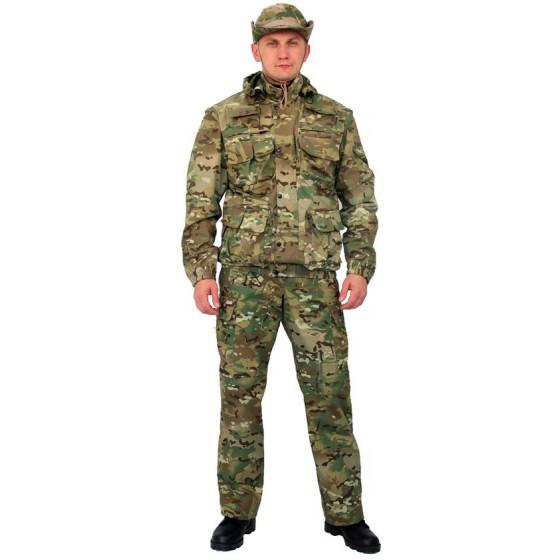 """Костюм мужской """"Gerkon Commando Transform"""" летний, камуфляж т.Смесовая """"Мультикам"""""""