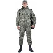 """Костюм мужской """"Gerkon Commando Vest"""" летний, камуфляж т.Смесовая """"Варан"""""""