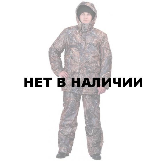 """Костюм мужской """"Вепрь"""" зимний, камуфляж алова """"Камыш2"""" подкладка флис 180г"""