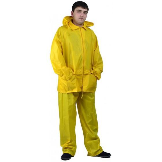 """Костюм """"Рыбак"""" нейлоновый желтый"""