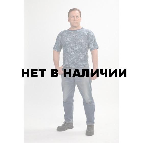 """Футболка, камуфляж """"Цифра синяя"""" (мод.ФК-14)"""