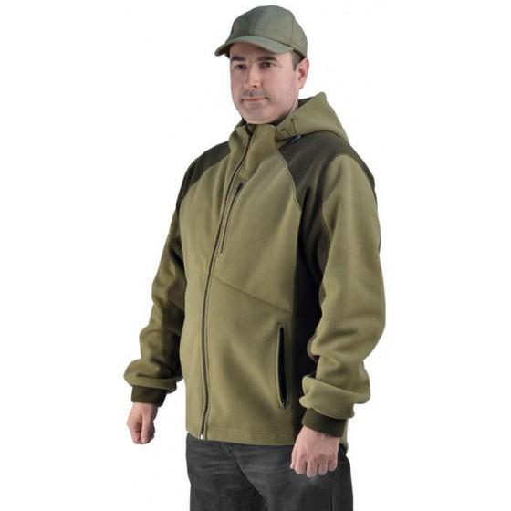 "Флисовая мужская куртка ""Gerkon King"" цвет ""Хаки"""