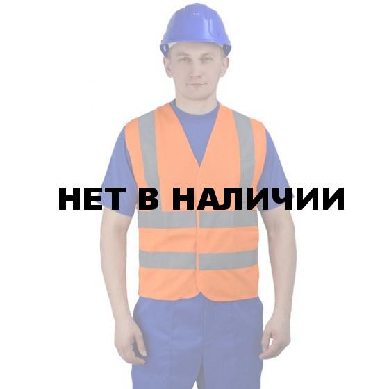 """Жилет """"Сигнальный"""" оранжевый 2х2 СОП"""