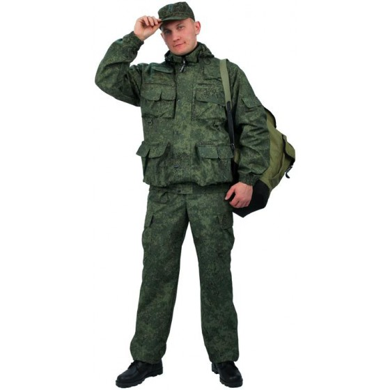 """Костюм мужской """"Gerkon Commando"""" летний, камуфляж т.Смесовая """"Зеленый пиксель"""""""