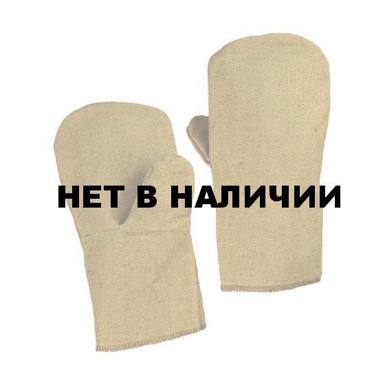 Рукавицы брезентовые (550г), наладонник брезент (550г)