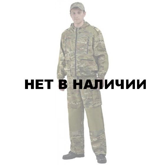 "Костюм мужской ""Турист 2"" летний, камуфляж Твилл Пич ""Мультикам"""
