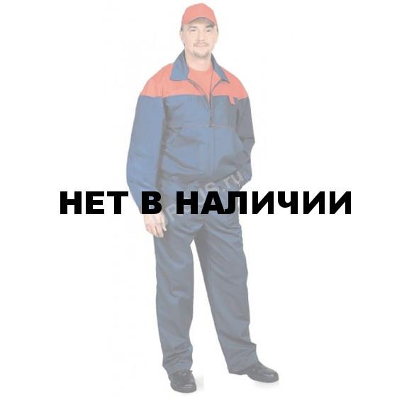 Костюм мужской Рейнир т-синий с красным