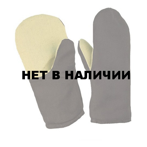 Рукавицы утепленные ,наладонник брезент(480г)