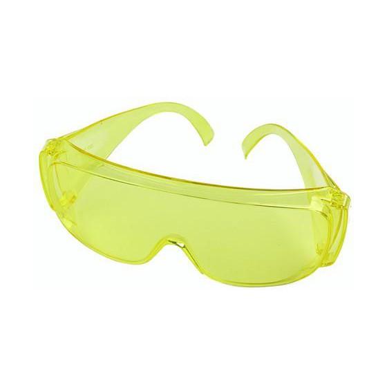 Очки открытые слесарные желтые (тип Люцерна)