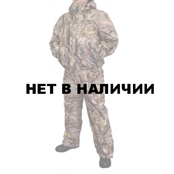 "Костюм мужской ""Вихрь"" зимний, камуфляж алова ""Осенний лес"" подкладка флис 180г"