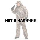 """Куртка мужская """"Вихрь"""" зимняя, камуфляж алова """"Осенний лес"""" подкл 100% п/э"""