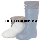 Сапоги ЭВА женские зимние Барс -65С, с 4-слойным чулком и манжетой, синие