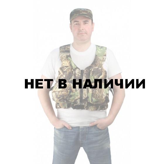 """Жилет спасательный """"Рыбак"""", камуфляж до 70 кг"""