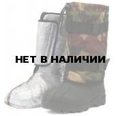 """Бахилы для охотников """"Хантер"""" (SARDONIX) ТЭП, с вкладным чулком, камуфляж+черные"""