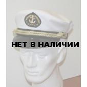 Капитанка 3-1 белая с регулировкой, шелк.шнур