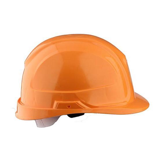 Каска промышленная Щит оранжевая