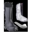 """Сапоги ЭВА мужские зимние """"Nord"""" (SARDONIX) -60С, с п/п и п/с, с вкладным чулком и манжетой, черные"""