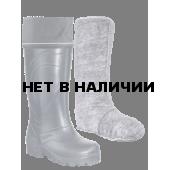 """Сапоги ЭВА мужские зимние """"Север"""" (SARDONIX) -45С, с вкладным чулком и манжетой, черные"""