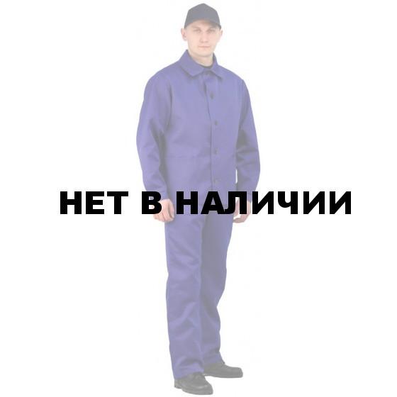 Костюм мужской Рабочий васильковый