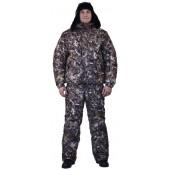 Костюм мужской Вихрь зимний, камуфляж алова Сухая трава подкладка флис 180г