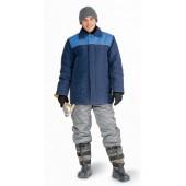 Куртка мужская УРАЛ зимняя т-синяя с васильковым