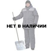 """Костюм мужской """"Буран"""" зимний т.серый с св.серой отделкой"""