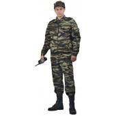 """Костюм охранника мужской """"Контрол"""", камуфляж летний зелёный вихрь"""