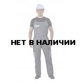 Полукомбинезон мужские Рольф серый с св-серым, 240 г