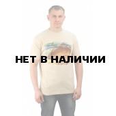 "Футболка ""Сазан"" цвет бежевый. Мир футболок"