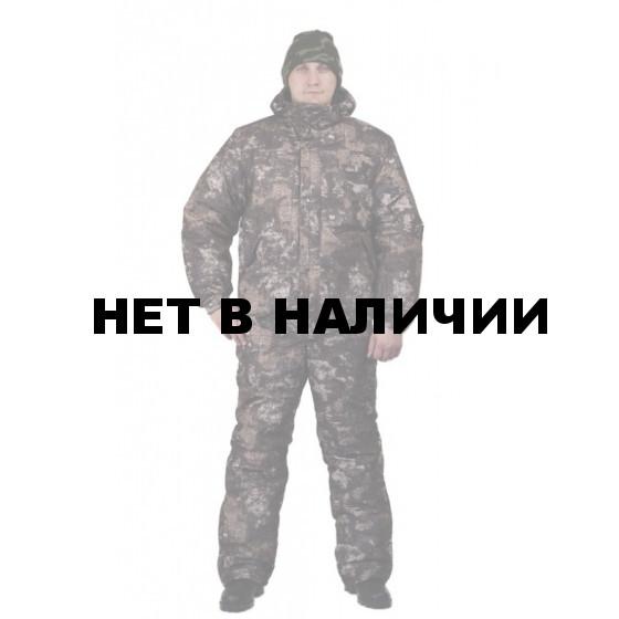 """Костюм мужской """"Вихрь"""" зимний, камуфляж алова """"Карта"""" подкладка флис 180г"""