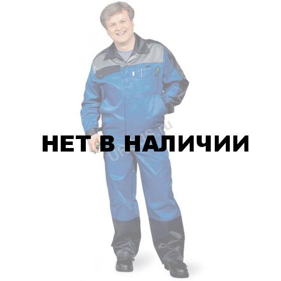 Костюм мужской Ресурс васильковый с т-синим и св-серым