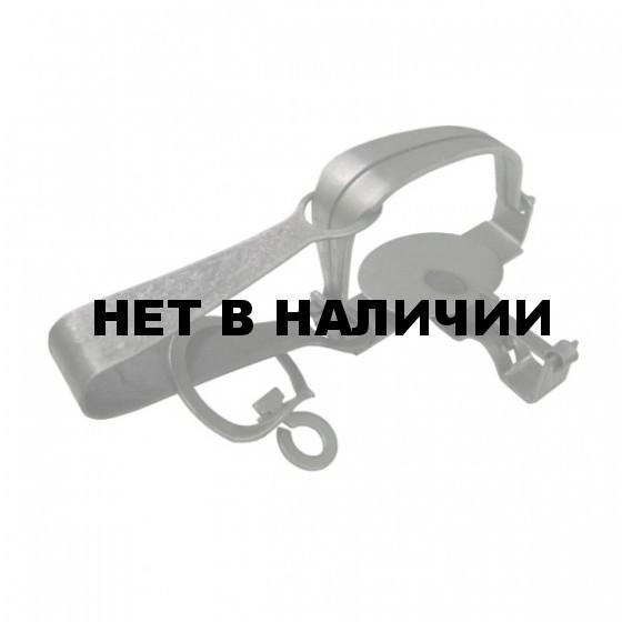 Капкан охотничий А84 № 0 с витой цепью (d=2 мм) ТОНАР