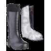 """Сапоги ЭВА мужские зимние """"Nord"""" (SARDONIX) -60С, с вкладным чулком(нат. мех) и манжетой, черные"""