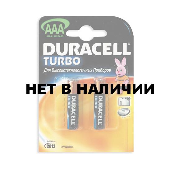 Батарейка Duracell Turbo AAA