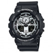 Мужские наручные часы Casio GA-100BW-1A (G-Shock)