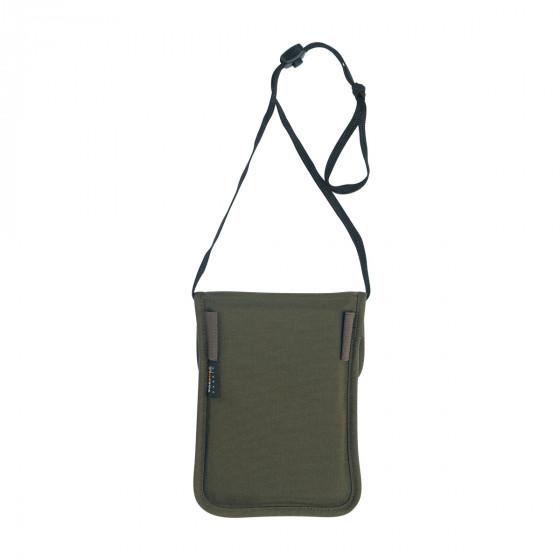 Кошелек на шею для документов и идентификационной карты TT NECK POUCH olive, 7621.331