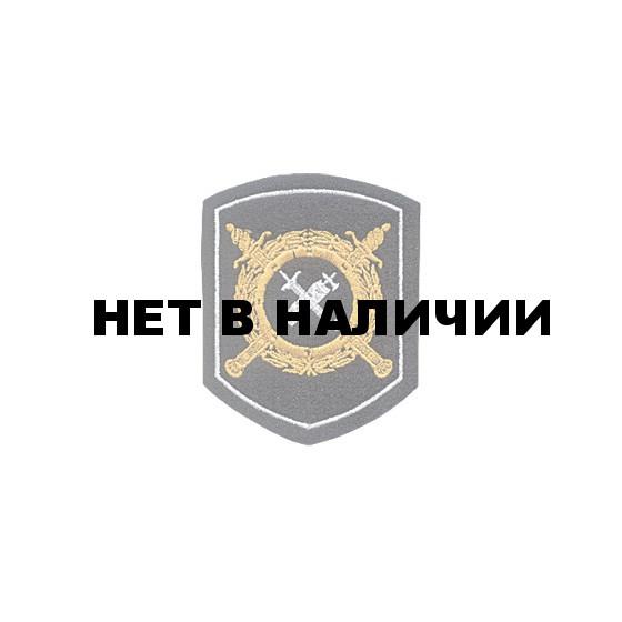 Нашивка на рукав Приказ №242 МВД Обеспечение деятельности органов ВД на рубашку вышивка шелк