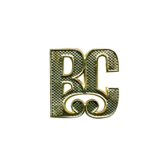 Знак ВС на погоны Президентского полка металл